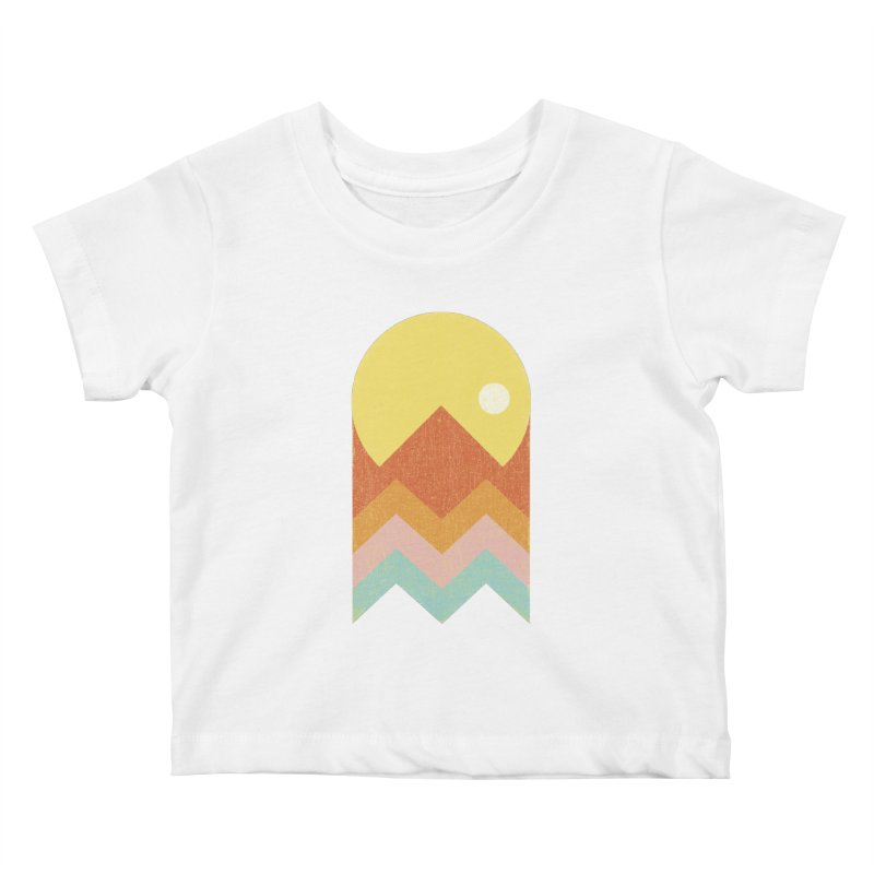 Amazeing Sunset Kids Baby T-Shirt by phildesignart's Artist Shop