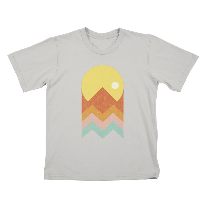 Amazeing Sunset Kids T-shirt by phildesignart's Artist Shop