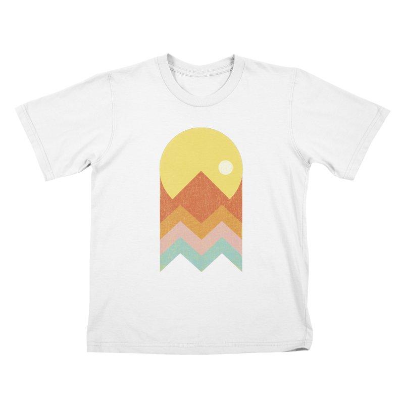Amazeing Sunset Kids T-Shirt by Phildesignart
