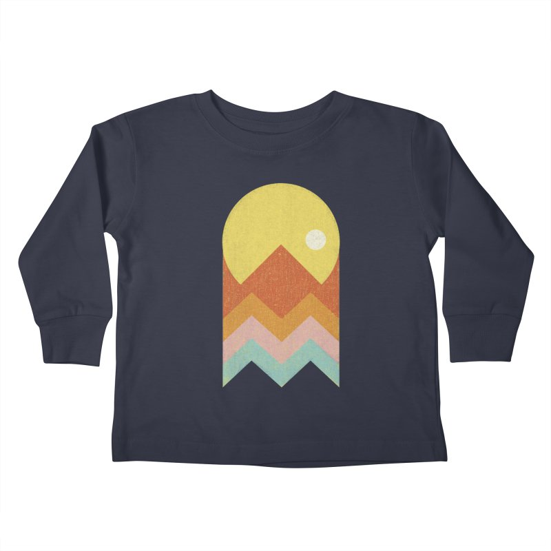 Amazeing Sunset Kids Toddler Longsleeve T-Shirt by Phildesignart