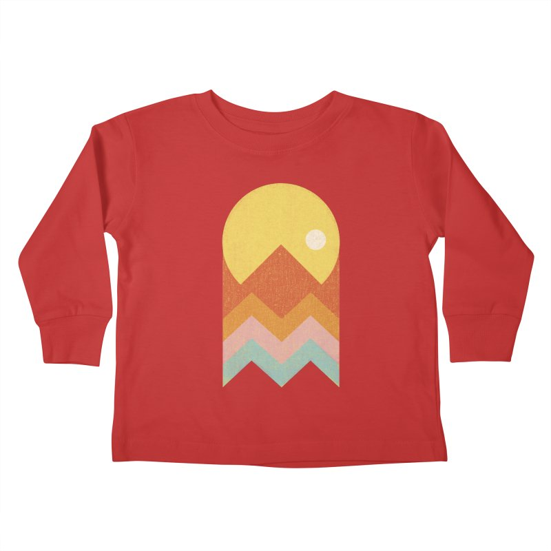Amazeing Sunset Kids Toddler Longsleeve T-Shirt by Phildesignart