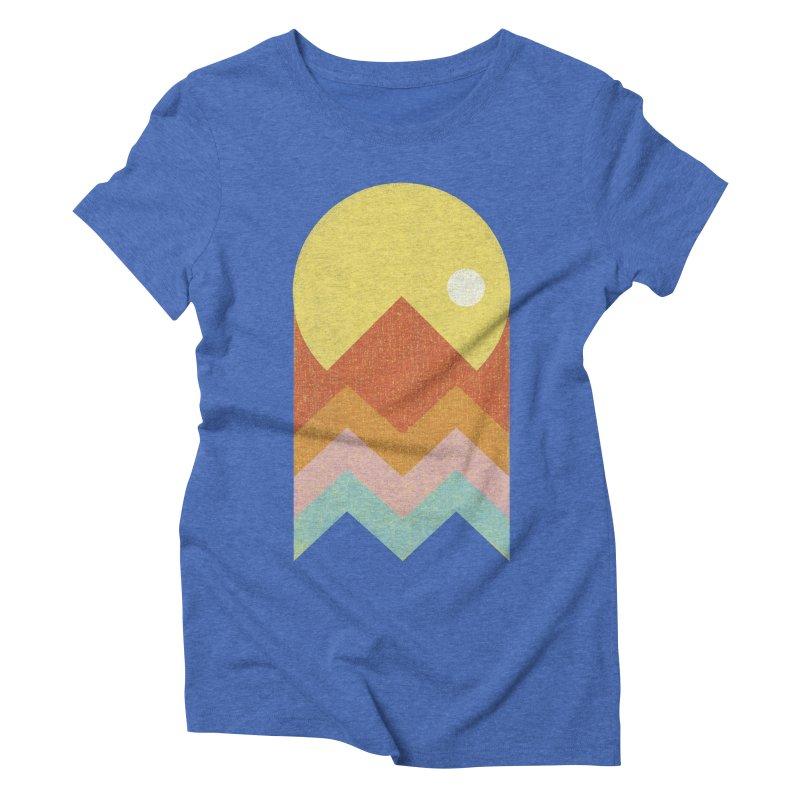Amazeing Sunset Women's Triblend T-Shirt by Phildesignart