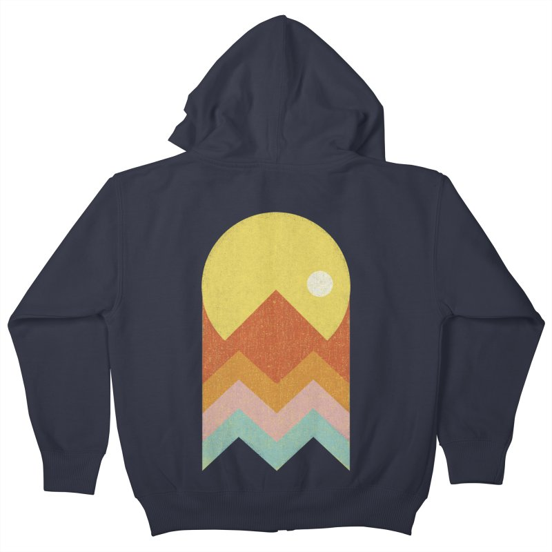 Amazeing Sunset Kids Zip-Up Hoody by phildesignart's Artist Shop