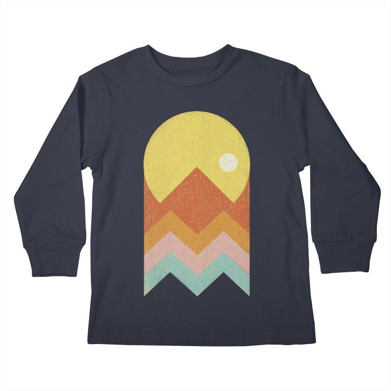 Amazeing Sunset Kids Longsleeve T-Shirt by Phildesignart