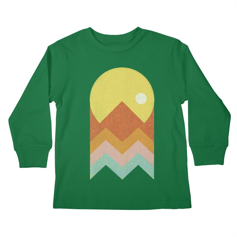 Amazeing Sunset Kids Longsleeve T-Shirt by Phildesignart