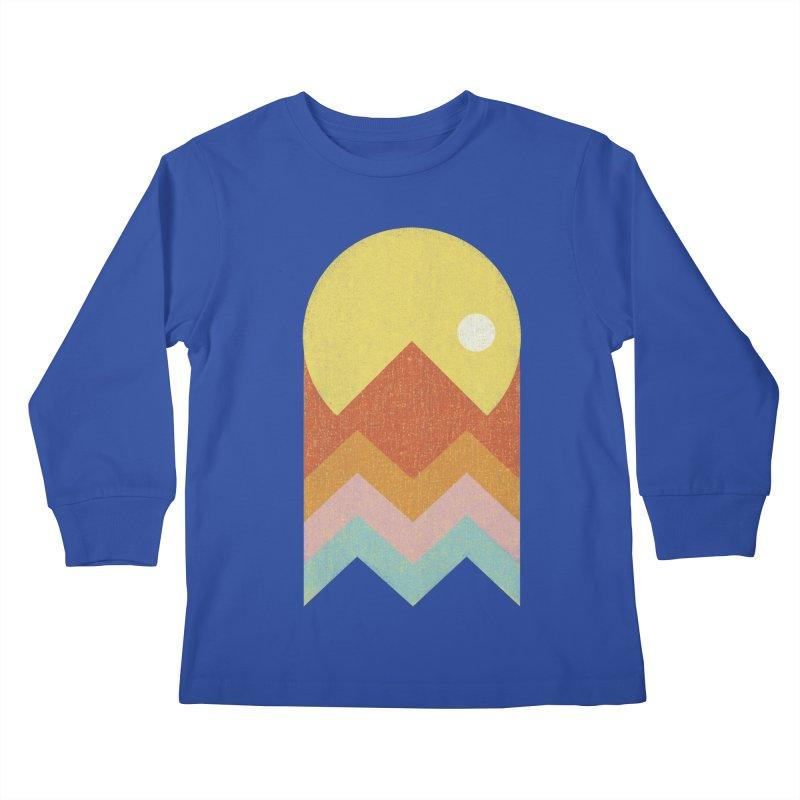Amazeing Sunset Kids Longsleeve T-Shirt by phildesignart's Artist Shop