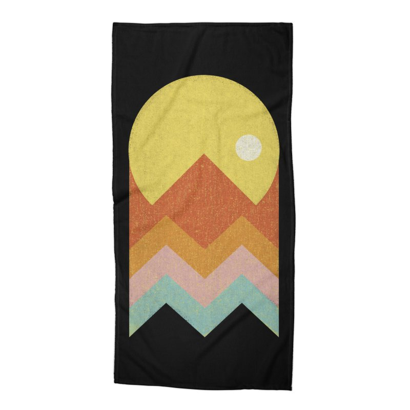 Amazeing Sunset Accessories Beach Towel by Phildesignart
