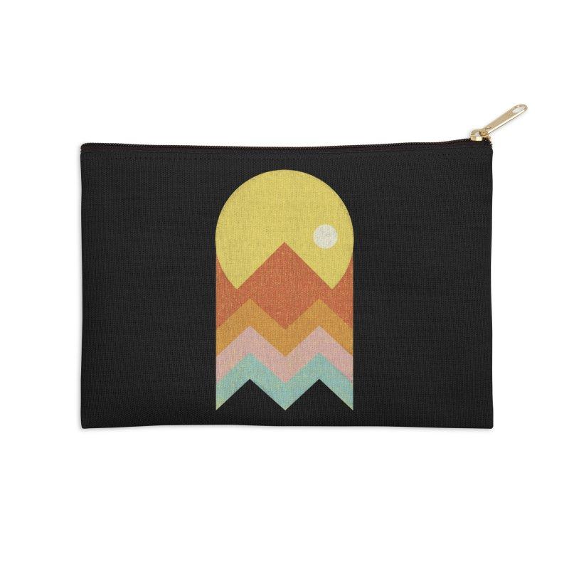 Amazeing Sunset Accessories Zip Pouch by phildesignart's Artist Shop