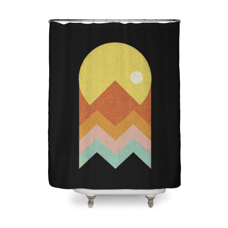 Amazeing Sunset Home Shower Curtain by Phildesignart