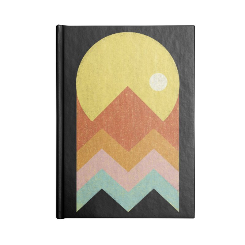 Amazeing Sunset Accessories Notebook by Phildesignart