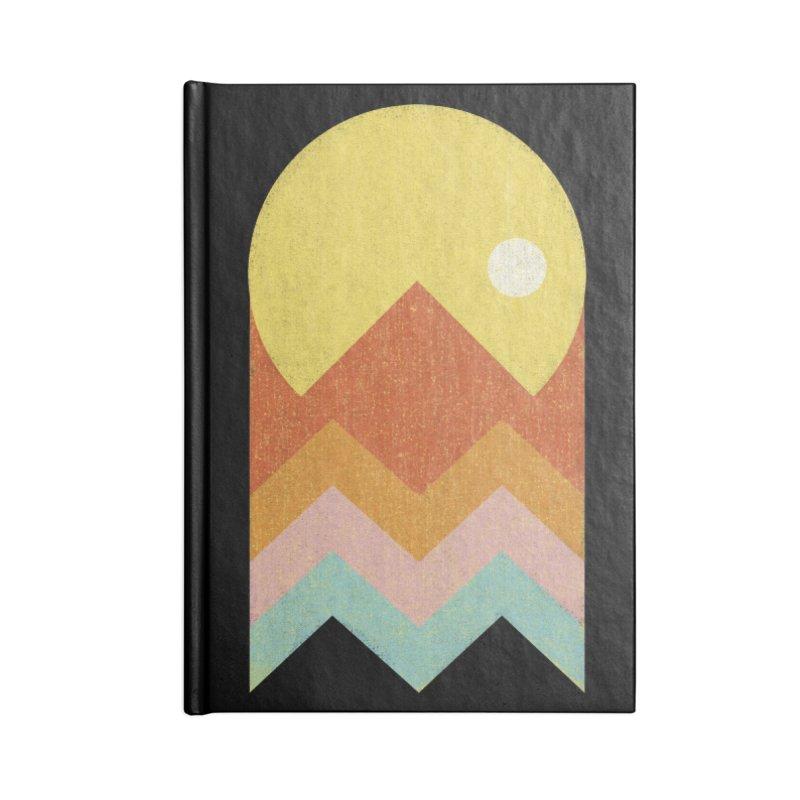 Amazeing Sunset Accessories Notebook by Phildesignart