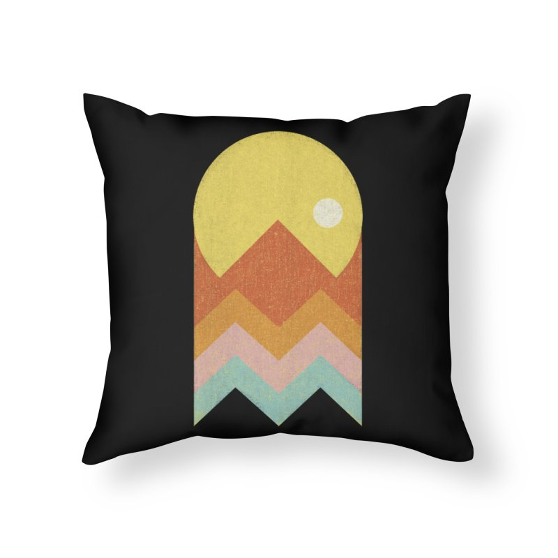 Amazeing Sunset Home Throw Pillow by Phildesignart
