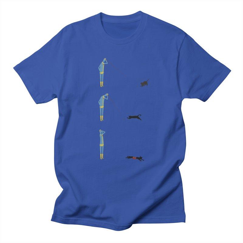 Cyclops' Cat Men's Regular T-Shirt by Phildesignart