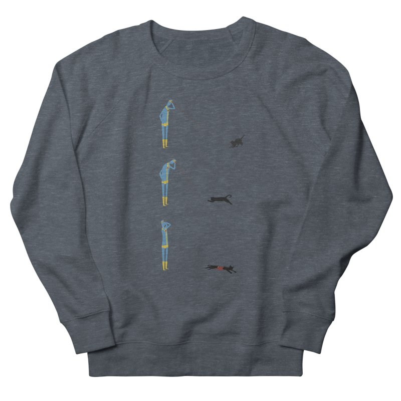 Cyclops' Cat Women's Sweatshirt by Phildesignart