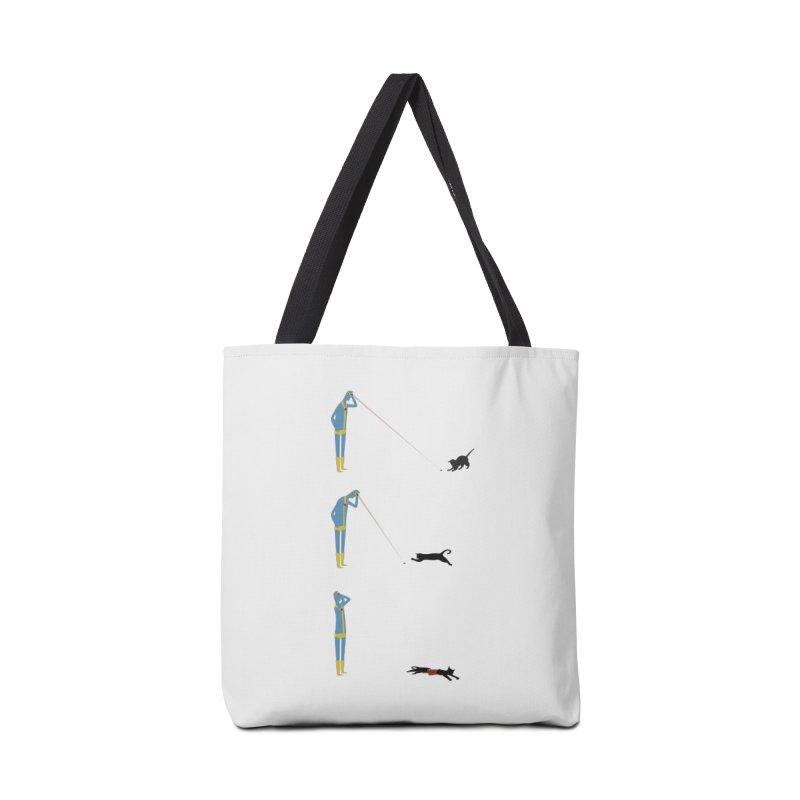 Cyclops' Cat Accessories Bag by Phildesignart