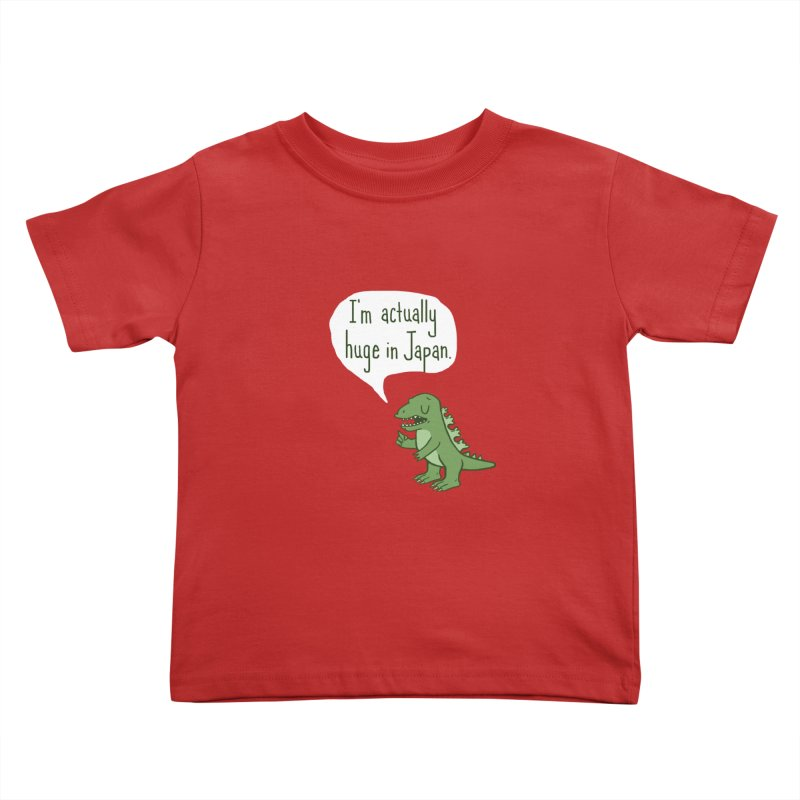 Huge in Japan Kids Toddler T-Shirt by Phildesignart