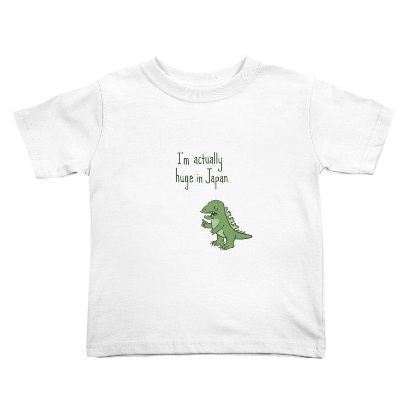 Huge in Japan Kids Toddler T-Shirt by phildesignart's Artist Shop