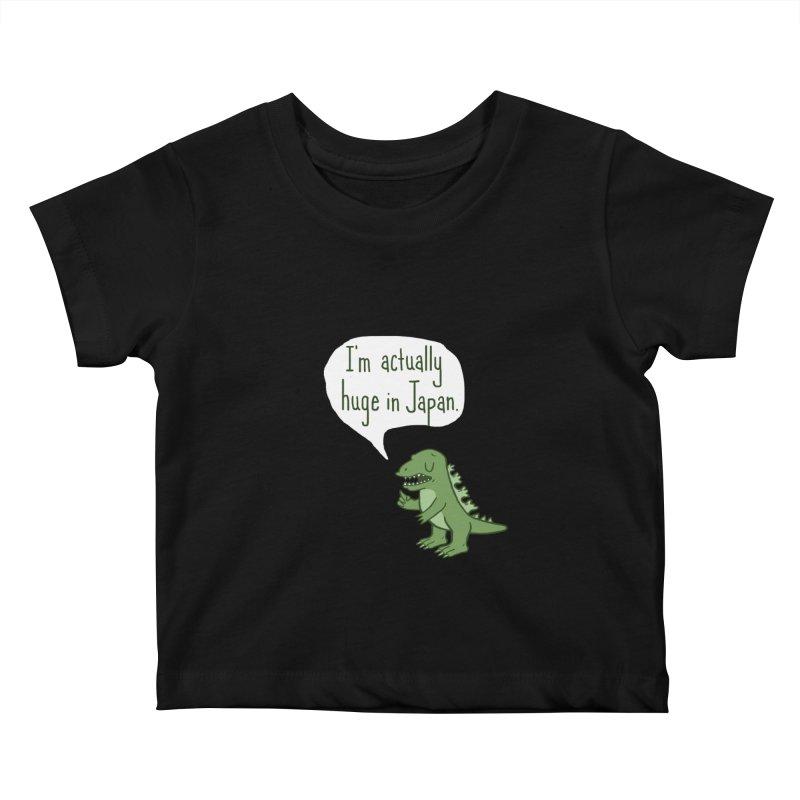 Huge in Japan Kids Baby T-Shirt by phildesignart's Artist Shop