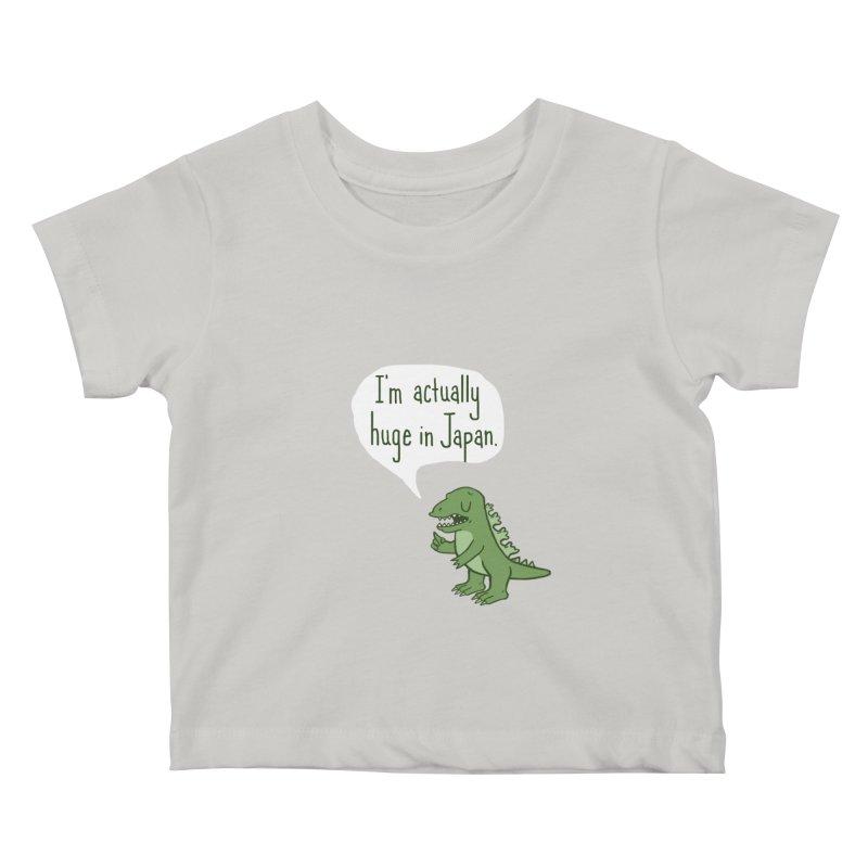 Huge in Japan Kids Baby T-Shirt by Phildesignart