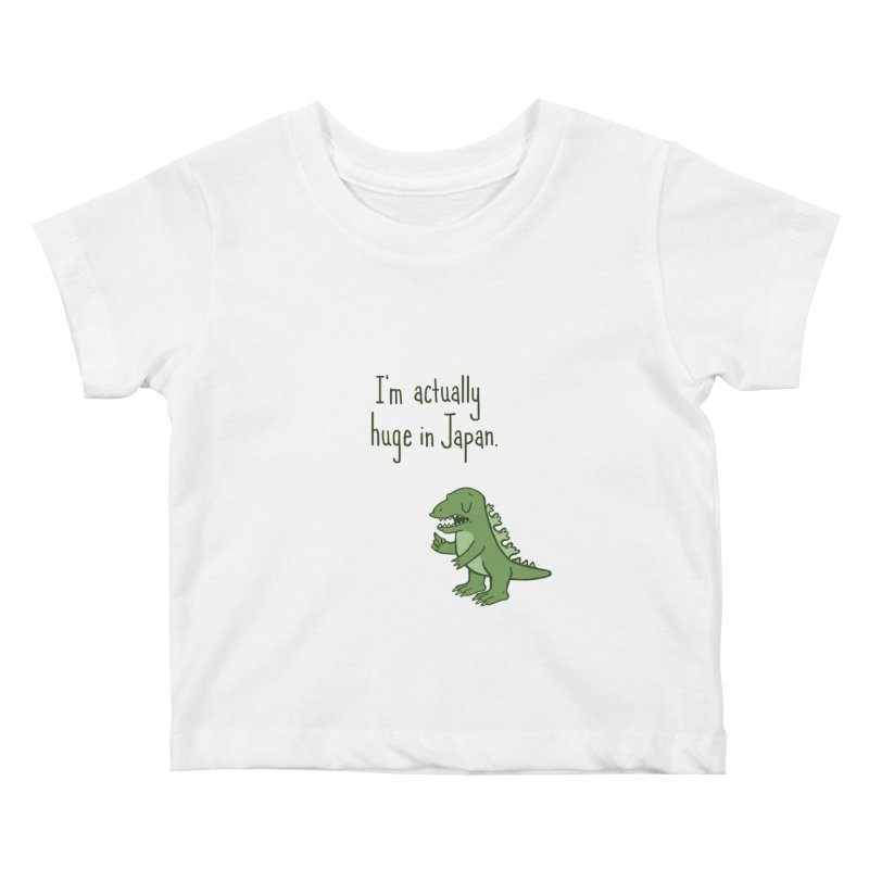 Huge in Japan Kids Baby T-Shirt by phildesignart's Artist Shop