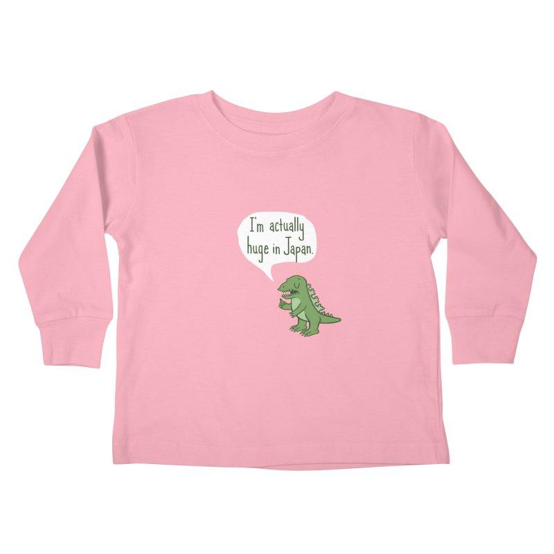 Huge in Japan Kids Toddler Longsleeve T-Shirt by Phildesignart
