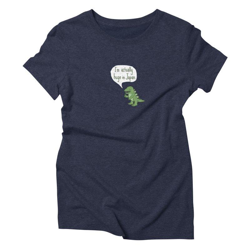 Huge in Japan Women's Triblend T-Shirt by Phildesignart