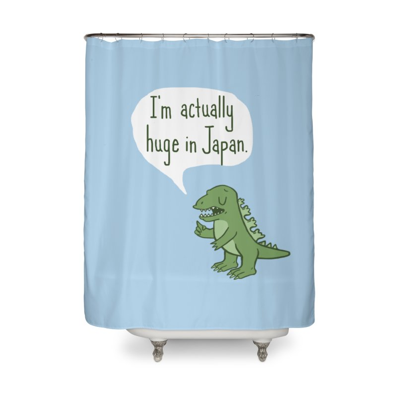 Huge in Japan Home Shower Curtain by Phildesignart