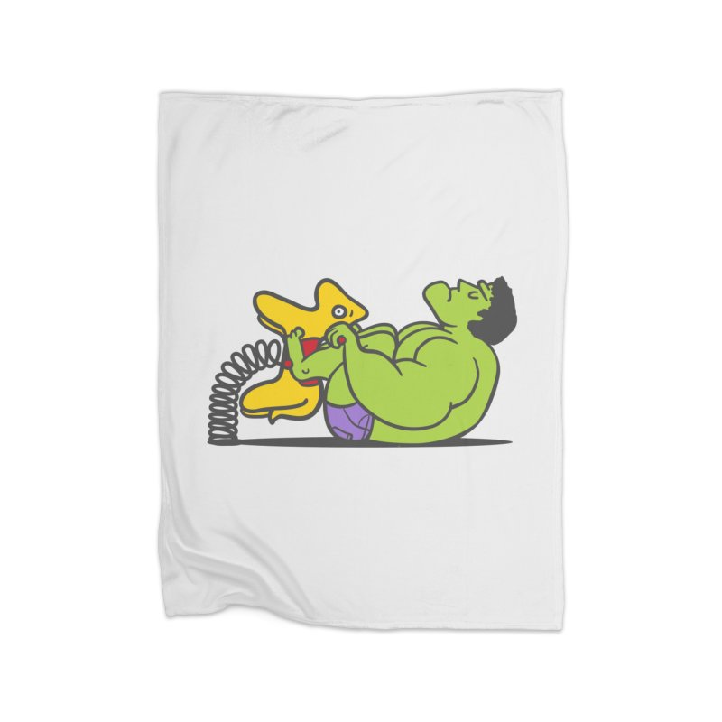 It's not easy being huge Home Blanket by phildesignart's Artist Shop