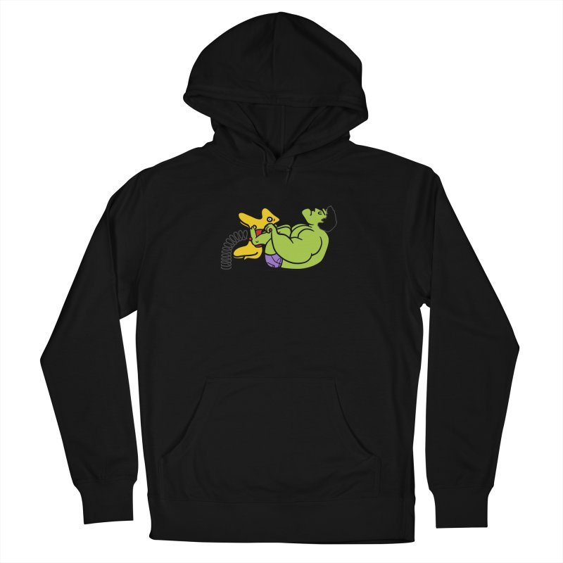 It's not easy being huge Women's Pullover Hoody by Phildesignart