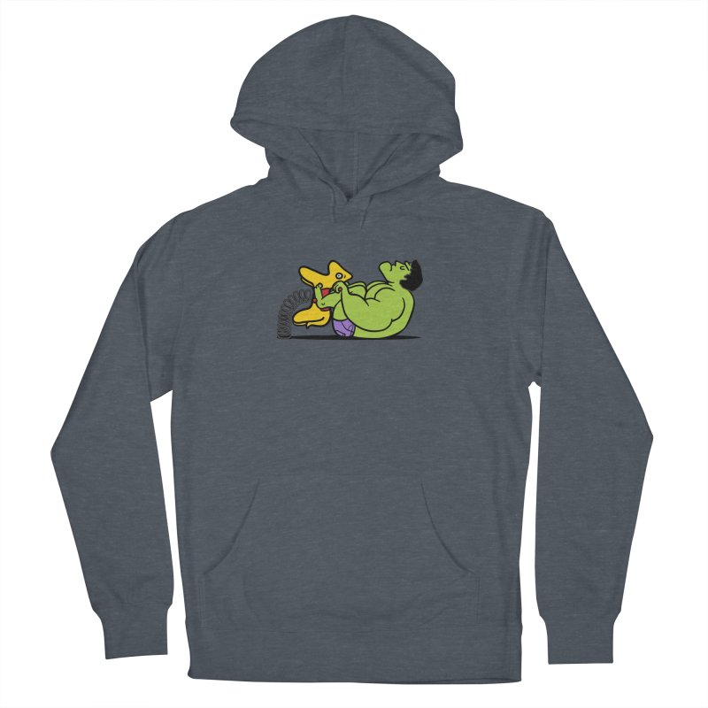 It's not easy being huge Men's Pullover Hoody by phildesignart's Artist Shop