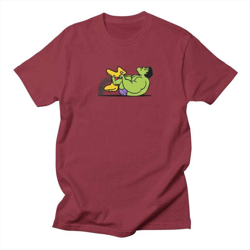 It's not easy being huge Men's T-shirt by phildesignart's Artist Shop