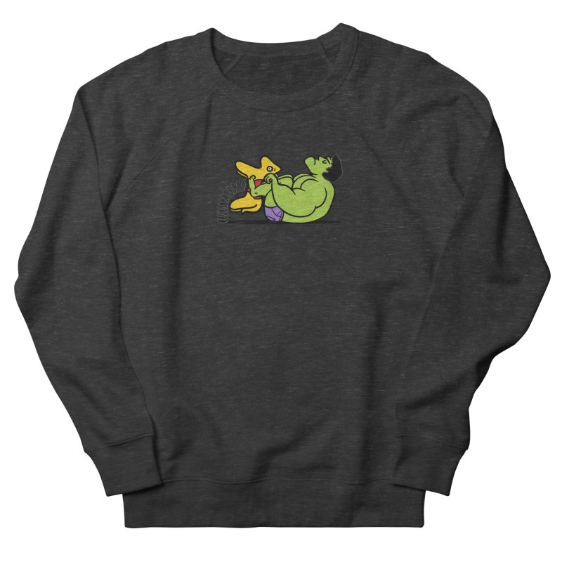 It's not easy being huge Men's French Terry Sweatshirt by Phildesignart