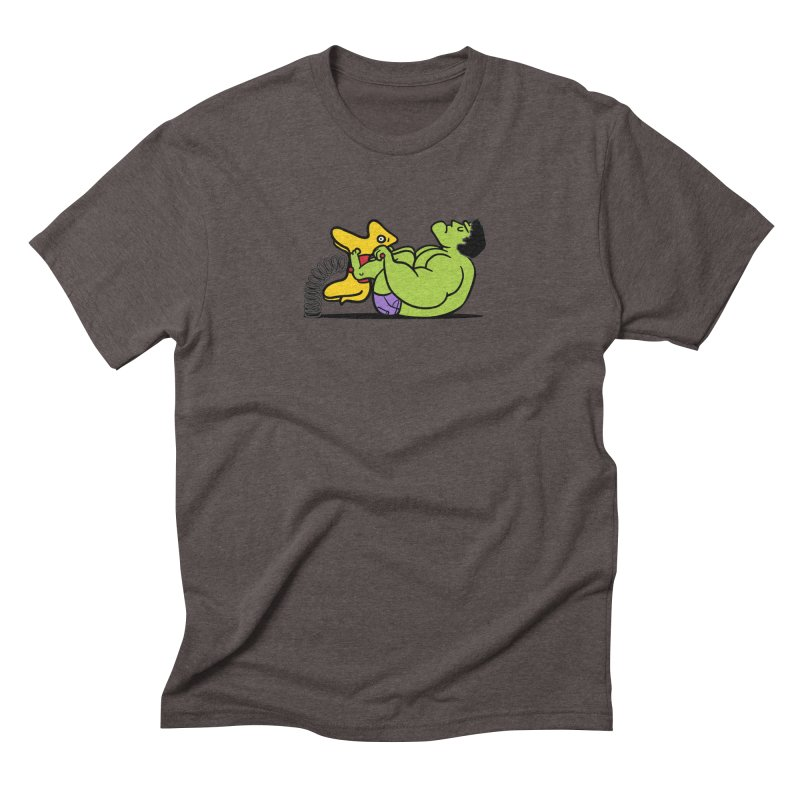 It's not easy being huge Men's Triblend T-Shirt by Phildesignart