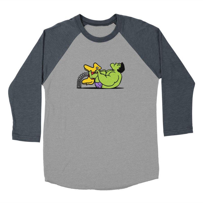 It's not easy being huge Men's Baseball Triblend T-Shirt by phildesignart's Artist Shop