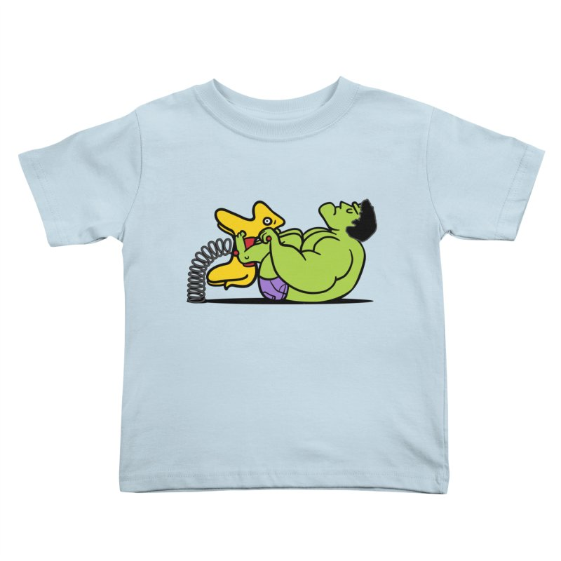 It's not easy being huge Kids Toddler T-Shirt by phildesignart's Artist Shop