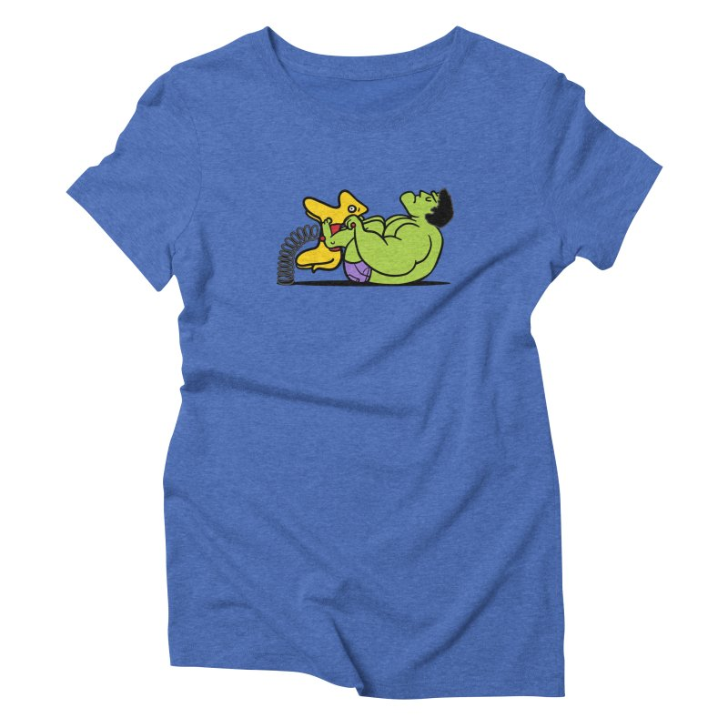 It's not easy being huge Women's Triblend T-Shirt by Phildesignart