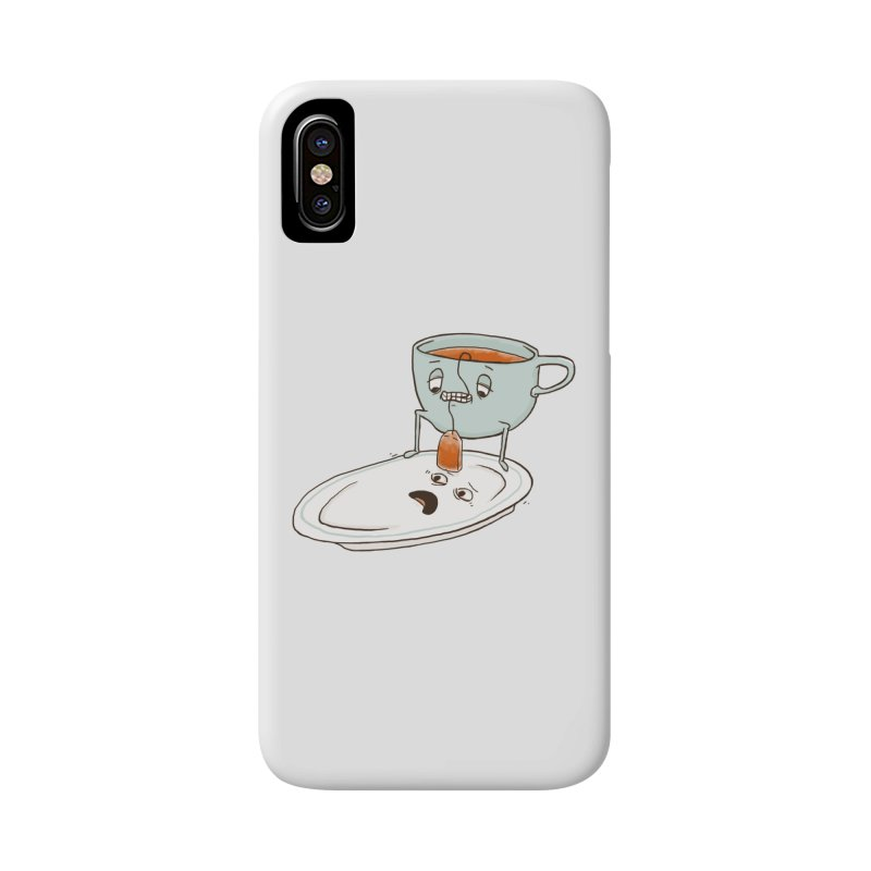 Tea Baggin' Accessories Phone Case by Phildesignart