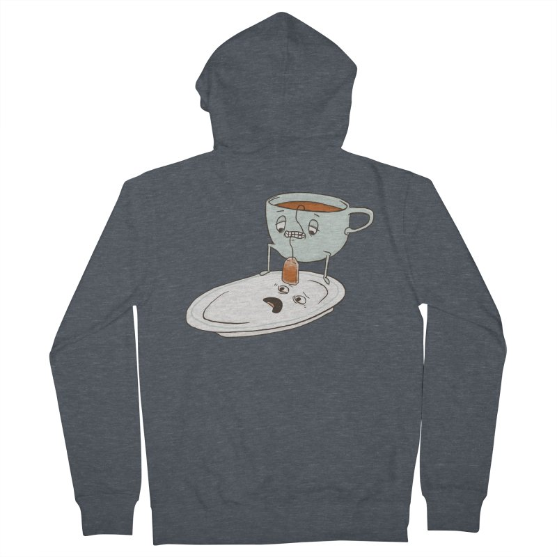 Tea Baggin' Men's Zip-Up Hoody by Phildesignart