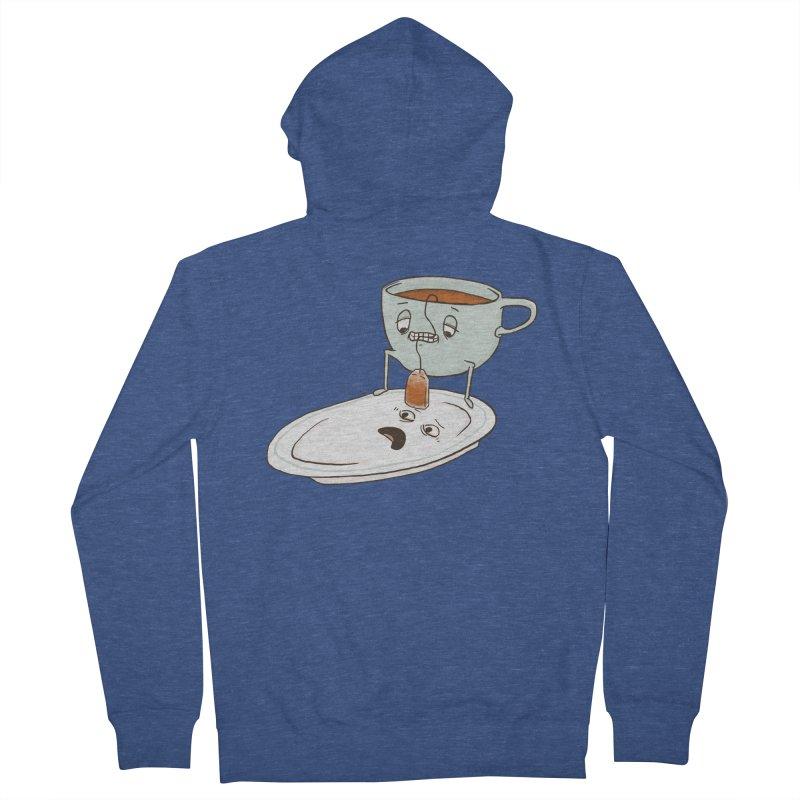 Tea Baggin' Men's Zip-Up Hoody by phildesignart's Artist Shop