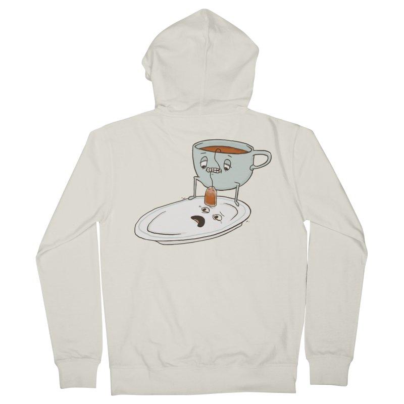 Tea Baggin' Men's Zip-Up Hoody by Phildesignart