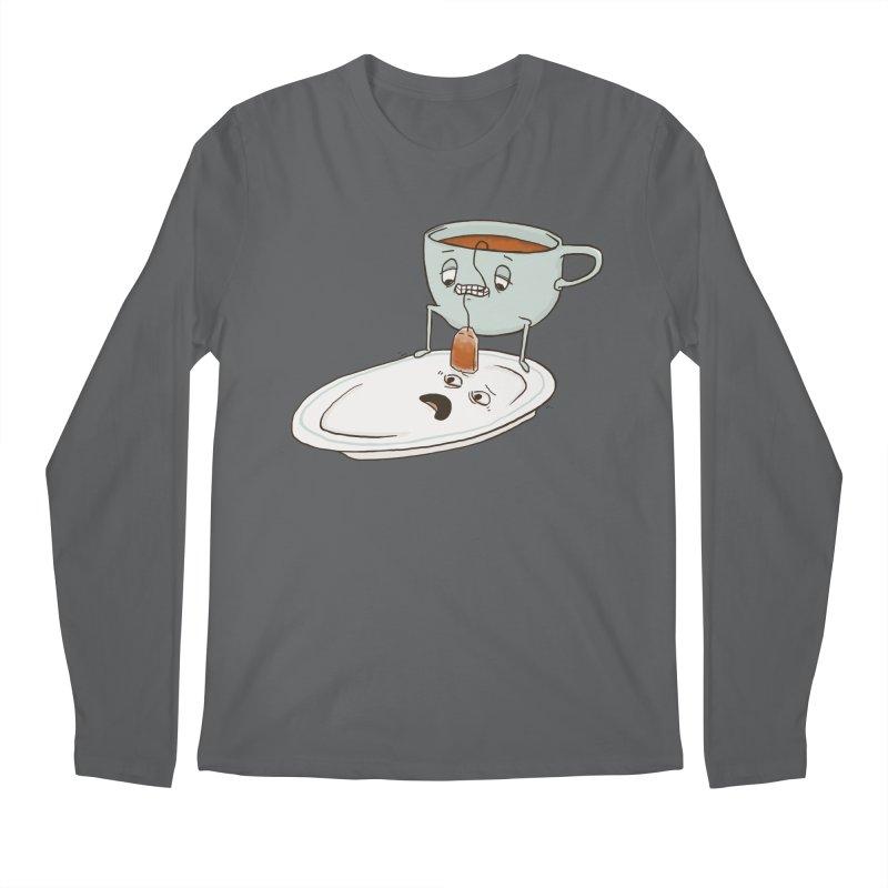 Tea Baggin' Men's Regular Longsleeve T-Shirt by Phildesignart