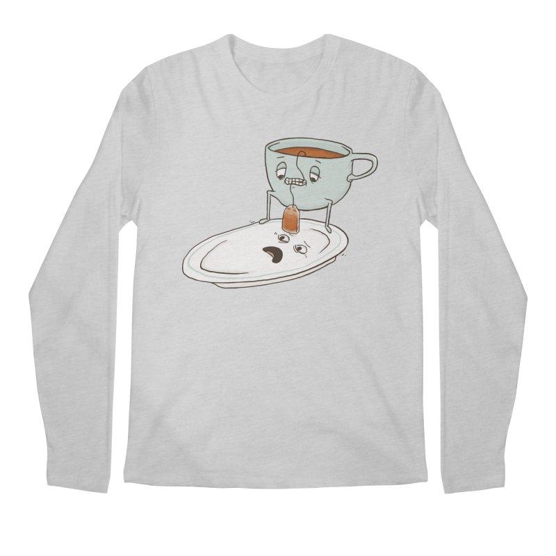 Tea Baggin' Men's Longsleeve T-Shirt by Phildesignart