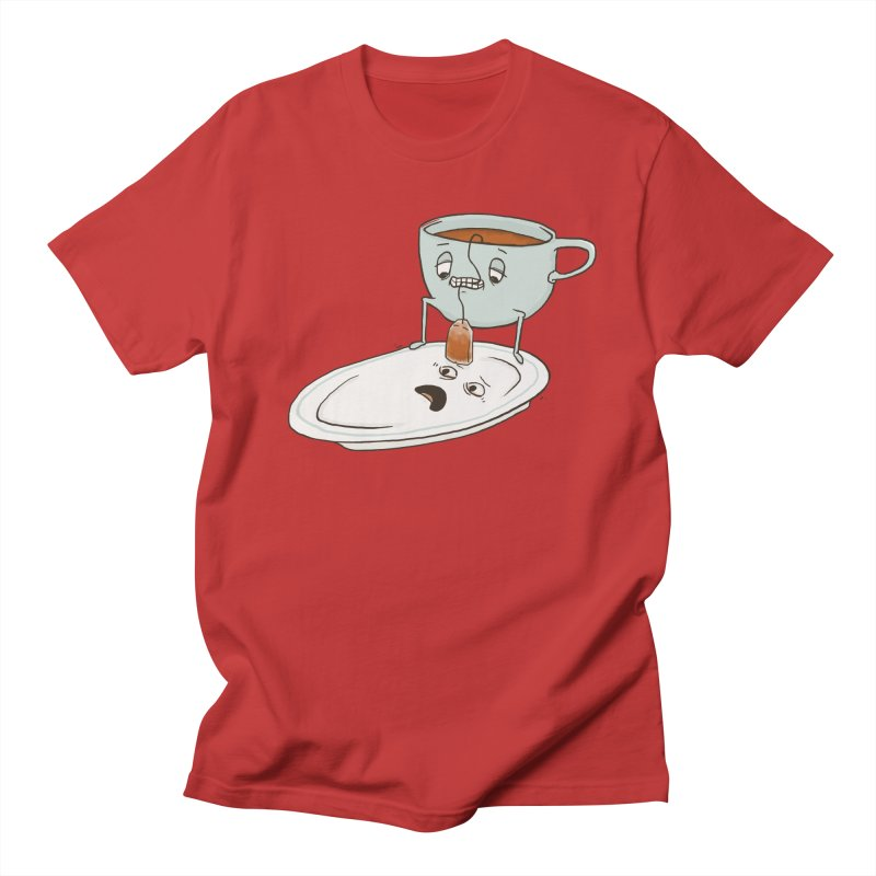 Tea Baggin' Men's Regular T-Shirt by Phildesignart