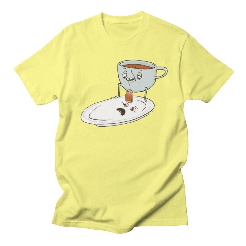 Tea Baggin' Men's T-Shirt by Phildesignart
