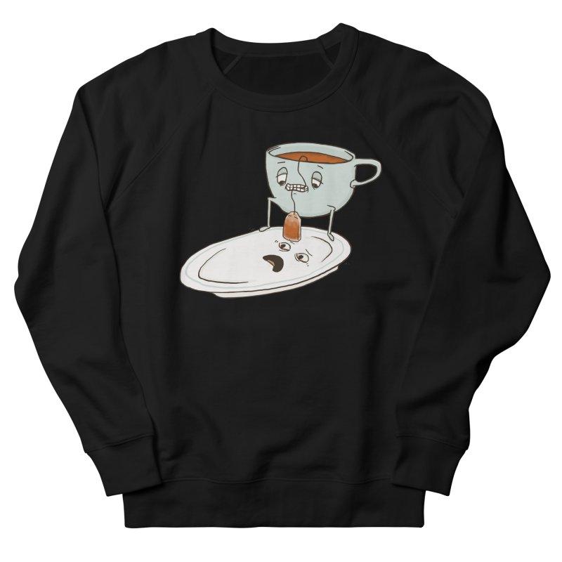 Tea Baggin' Men's French Terry Sweatshirt by Phildesignart