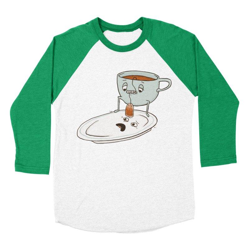 Tea Baggin' Women's Baseball Triblend T-Shirt by phildesignart's Artist Shop