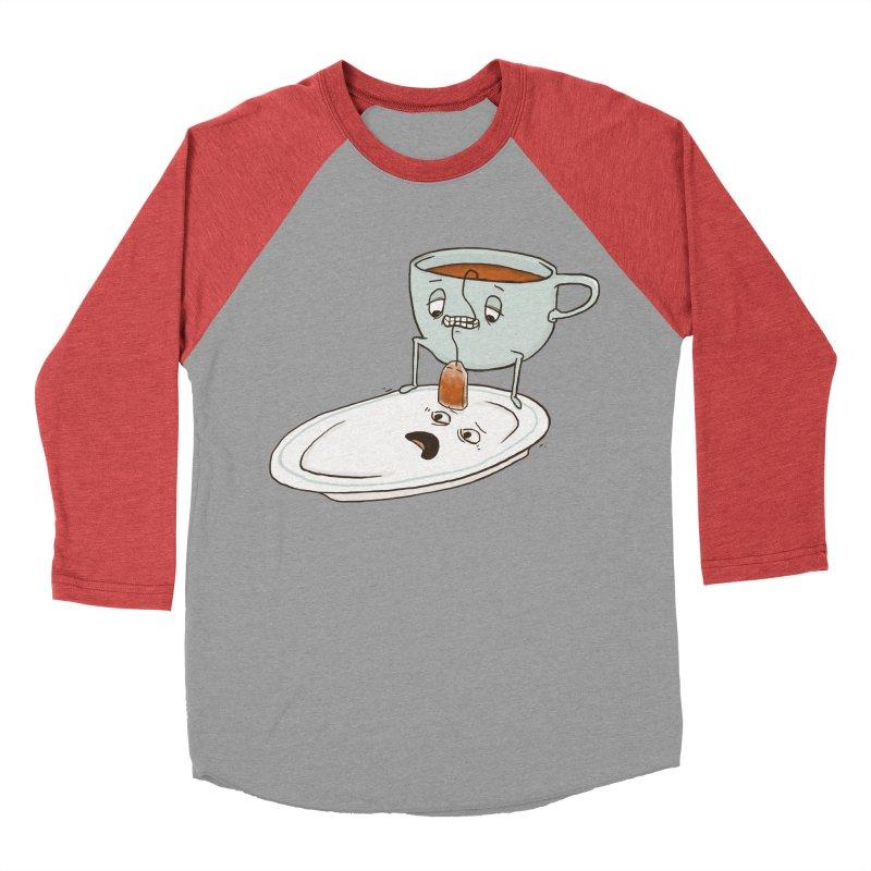 Tea Baggin' Women's Baseball Triblend Longsleeve T-Shirt by Phildesignart
