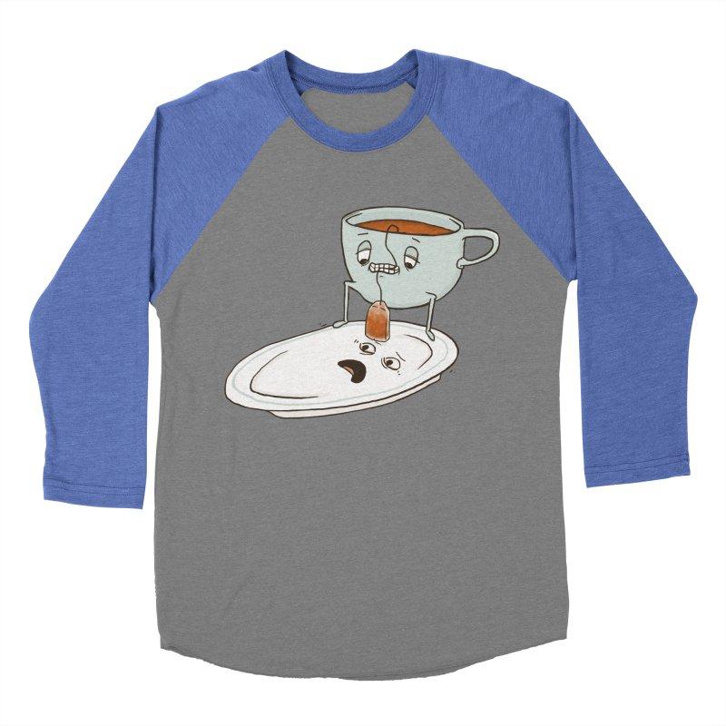 Tea Baggin' Men's Baseball Triblend Longsleeve T-Shirt by Phildesignart