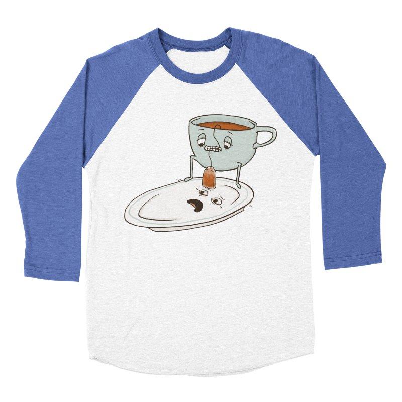 Tea Baggin' Men's Baseball Triblend T-Shirt by Phildesignart