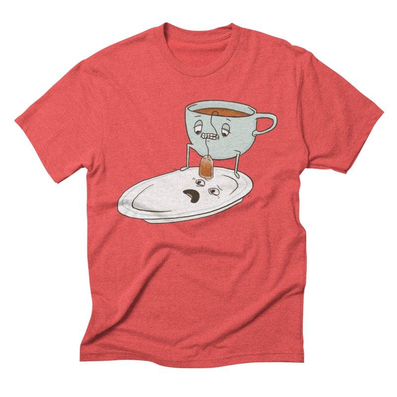 Tea Baggin' Men's Triblend T-shirt by phildesignart's Artist Shop